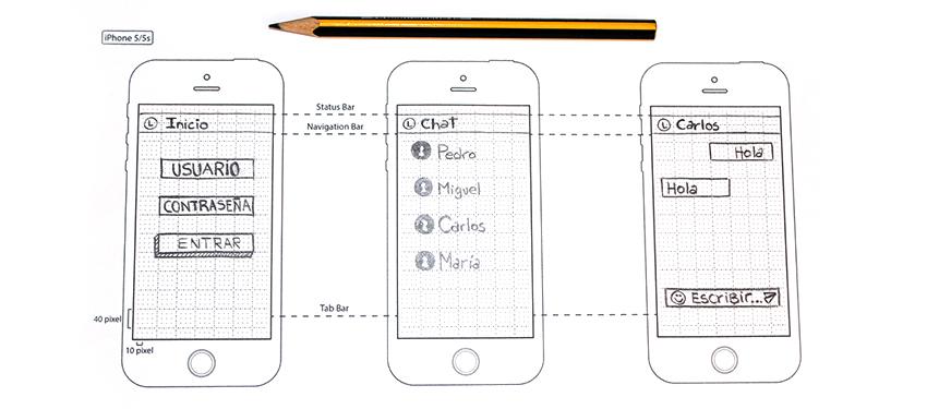 Como hacer un prototipo de una app movil